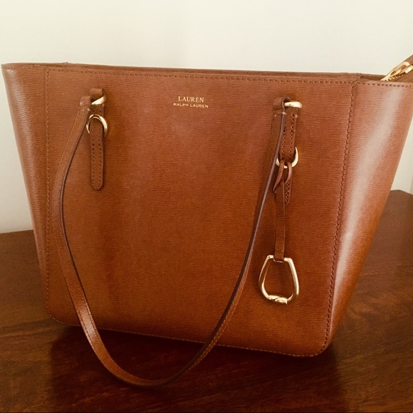 0ca0dd8df6 Ralph Lauren Bennington leather shopper Purse. M 5c3ea2fd95199601c664d1f2